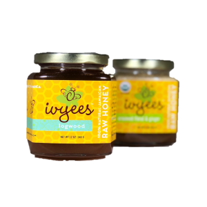 Logwood and Creamed Floral & Ginger Raw Honey Bundle
